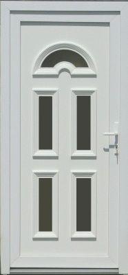 Temze 5 plastové vchodové dvere so sklom