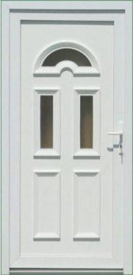 Temze 3 sklové plastové vchodové dvere