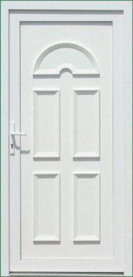 Temze plastové vchodové dvere
