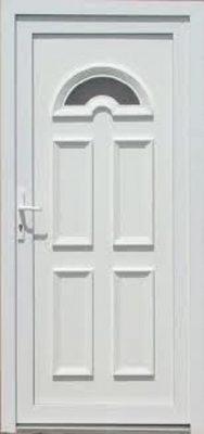Temze 1 sklové plastové vchodové dvere