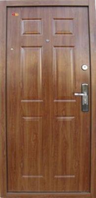 Hi Sec bezpečnostné dvere zlatý dub do bytového domu